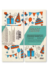 groovy goods ecological sponge cloth, dishcloth