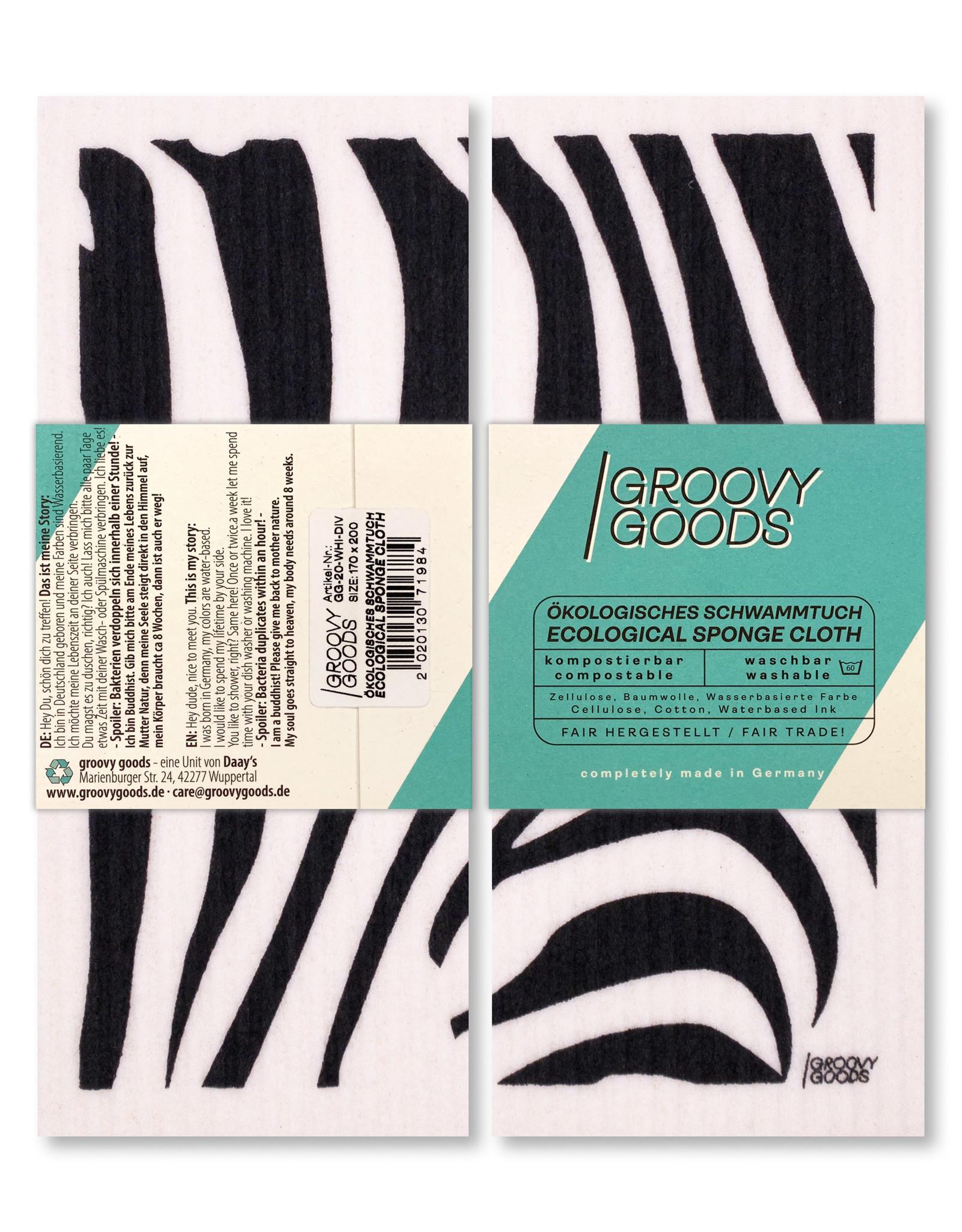 groovy goods ökologisches Schwammtuch, Spültuch