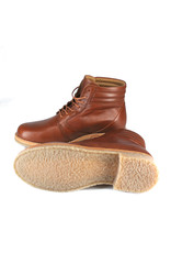 Ten Points Astrid lace-up shoes made of leather with leather lining