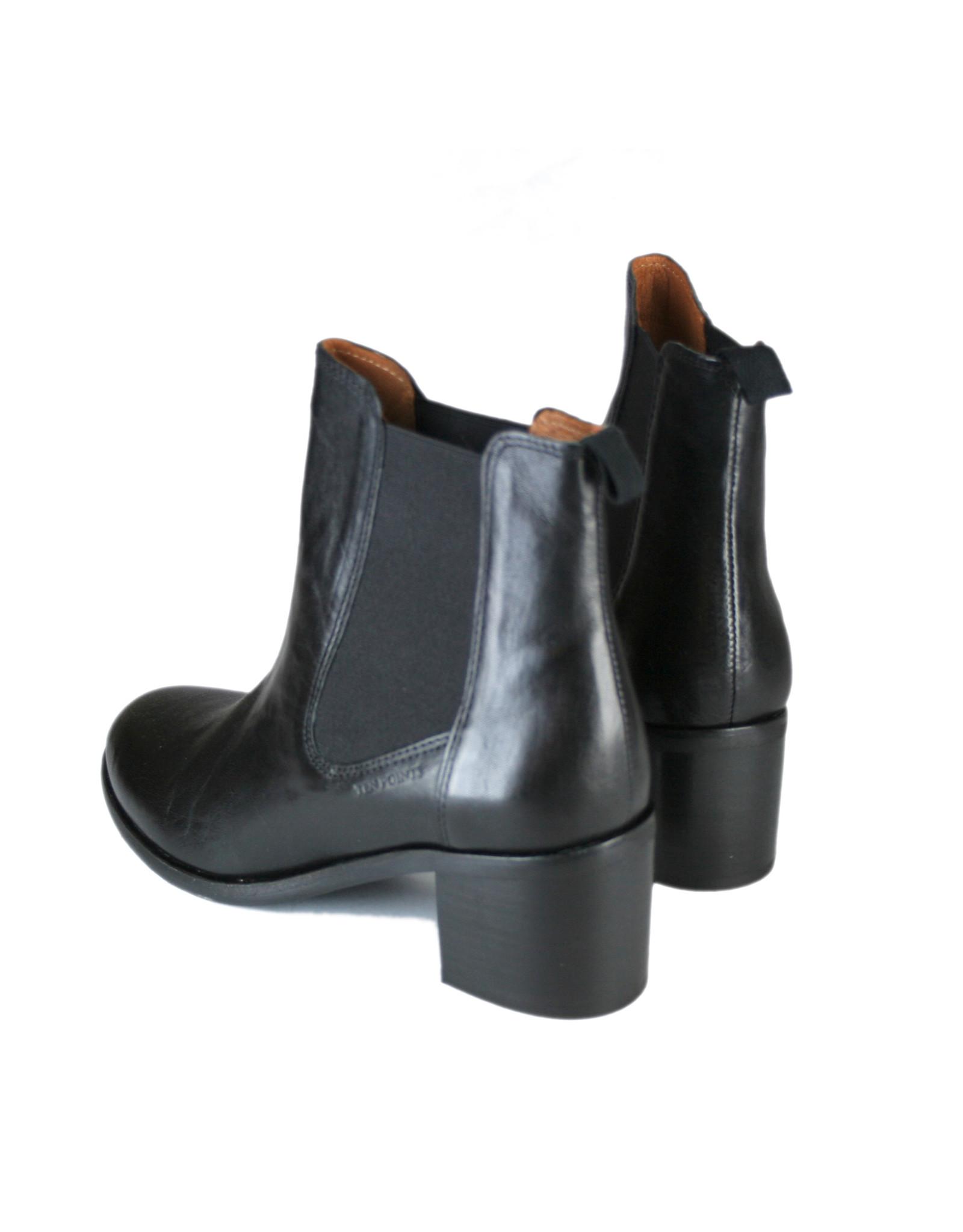 Ten Points Josette Boots, vegetabil gegerbtes Leder