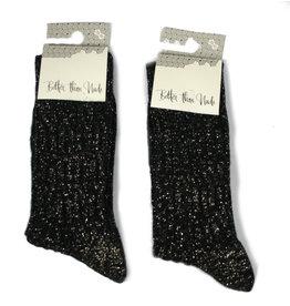 bls organic socks Glitter socks