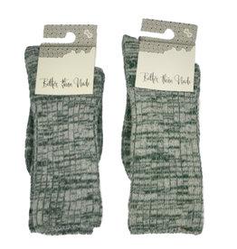 bls organic socks Woll-Baumwoll-Socken meliert