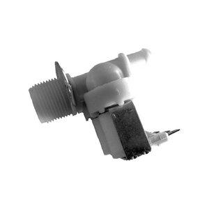 Electric valve double straight 2 x 1