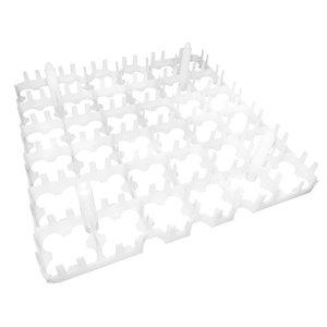 Plastic Eierhöcker mit Septum, 36 Eier