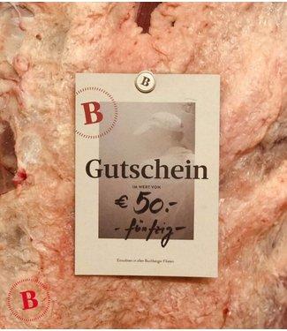 Buchberger Gutschein 50 €