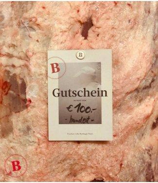 Buchberger Gutschein 100 €
