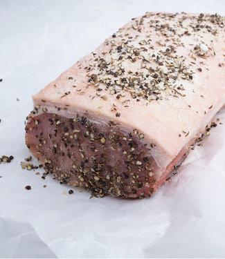 Buchberger Karreebraten gewürzt roh 1 kg