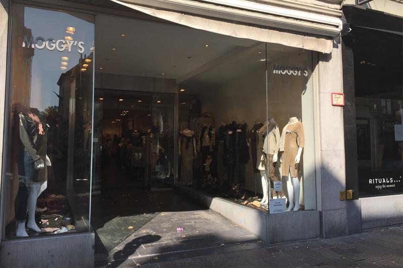 Moggy's winkel Zuidzandstraat Brugge