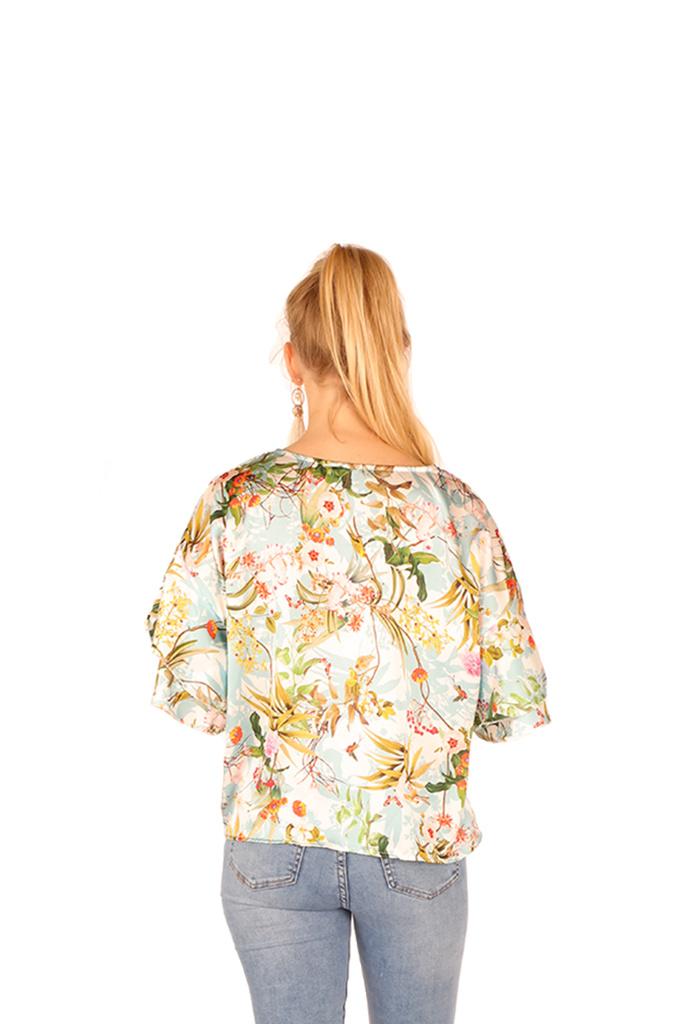 200BLS0060  Bloesje bloemen-print TU
