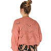 """300PUL0000  Pullover cropped ajour Oud Roze TU  """"NEW IN"""""""