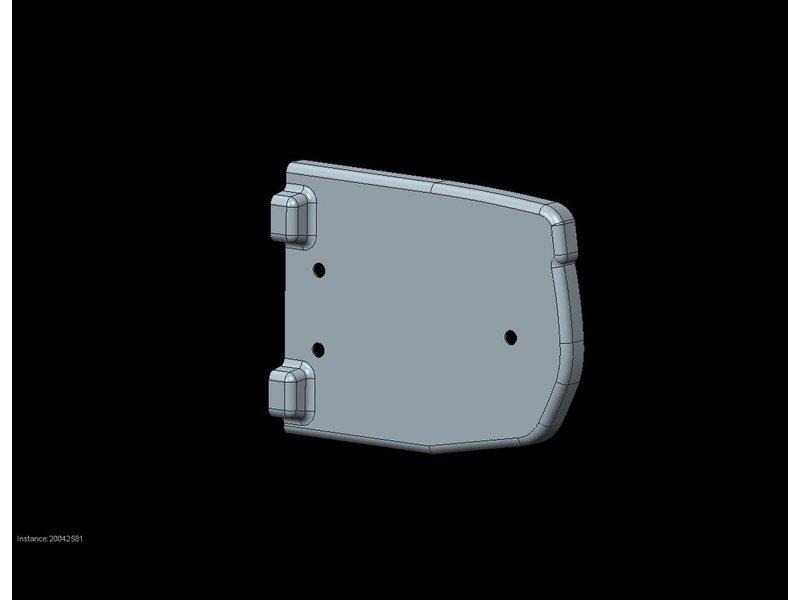 Freedom Bumperkap Jumpy / Expert / ProAce / Zafira L3 buitenzijde rechts (149mm)