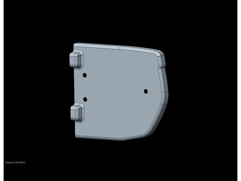 Freedom Bumperkap Jumpy / Expert / ProAce / Zafira L1/L2 buitenzijde rechts (172mm)