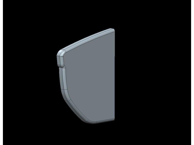 Freedom Bumperkap Jumpy / Expert / ProAce / Zafira L1/L2 middendeel rechts (172mm)