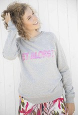 SO-PHI Timeless sweater with pink army print - et alors?