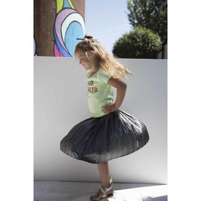 CDKN_kids - t shirt licht groen met bronzen print - Hug dealer -