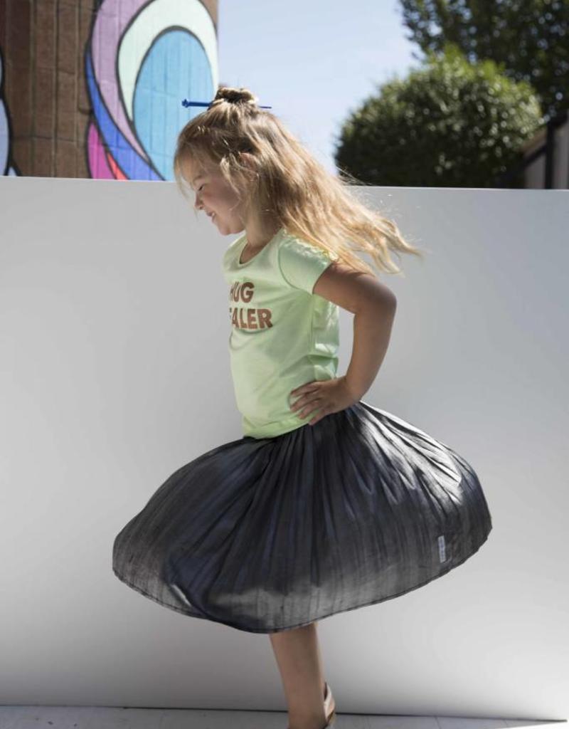 CDKN_kids CDKN_kids - Hug dealer 't shirt - licht groen