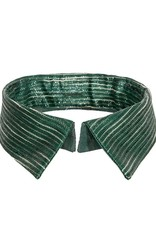 Mon Col Anvers Green collar that fits the green striped dresses perfectly