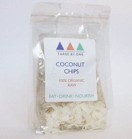 three by one Three by one coconut chips - 200gr