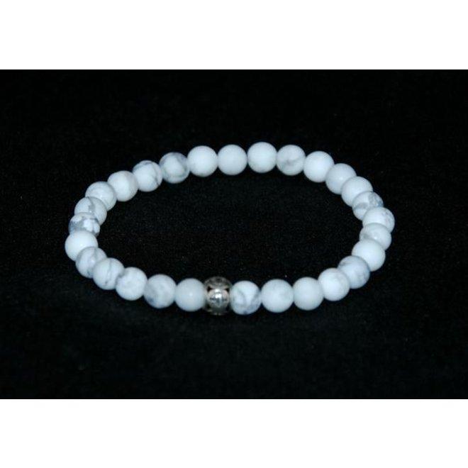 CASCADE - bracelet - howlite