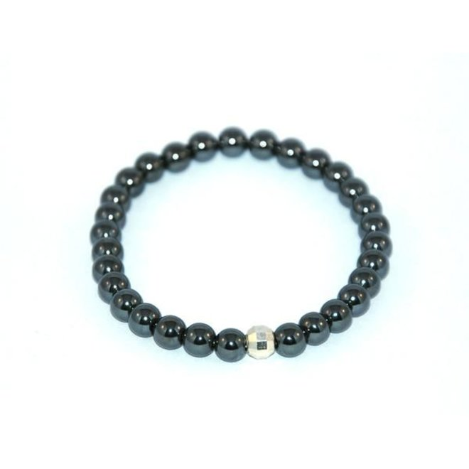 CASCADE - bracelet - hematite