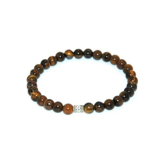 CASCADE - bracelet - tiger eye - 6mm