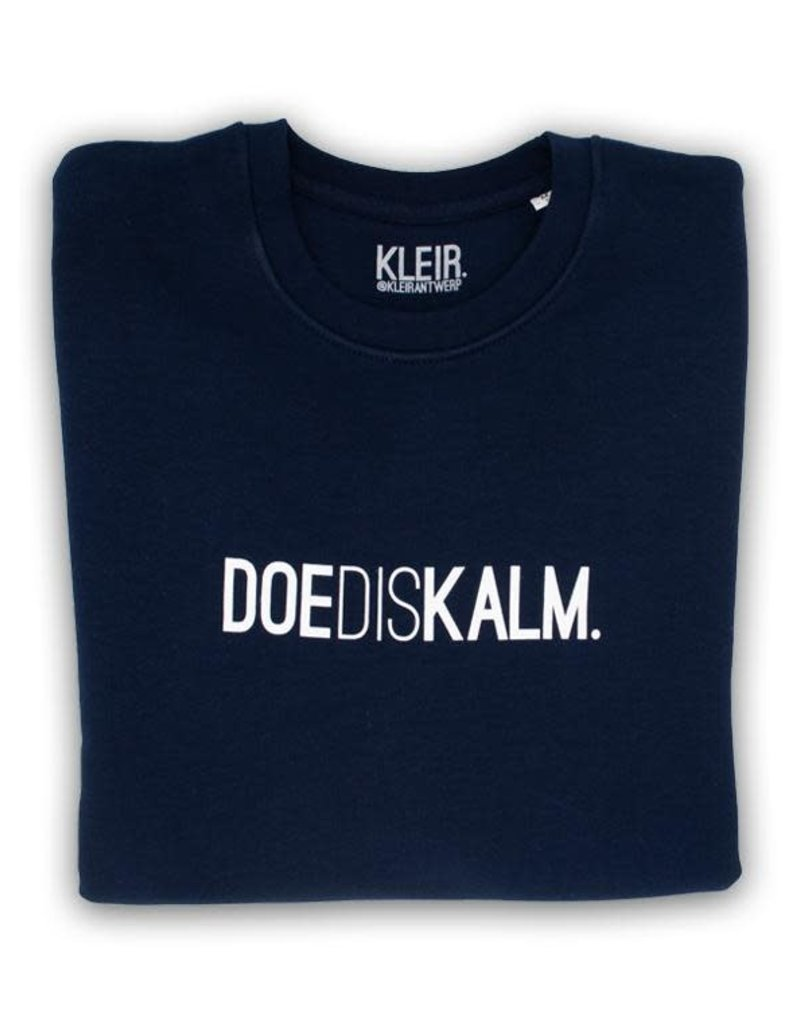 Kleir! KLEIR. - DOEDISKALM. Trui