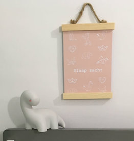 Studijoke Studijoke - Poster A3 slaap zacht