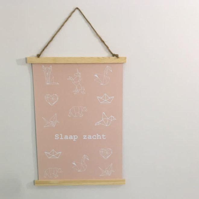 STUDIJOKE - sleep well - poster A3
