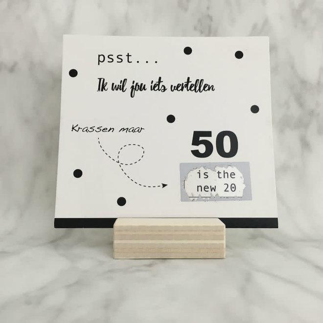 STUDIJOKE - 50 years - scratch card