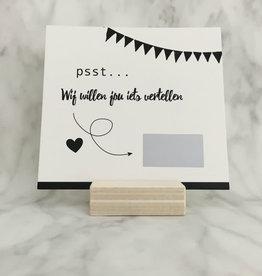 Studijoke Studijoke - Kraskaart Wij gaan trouwen