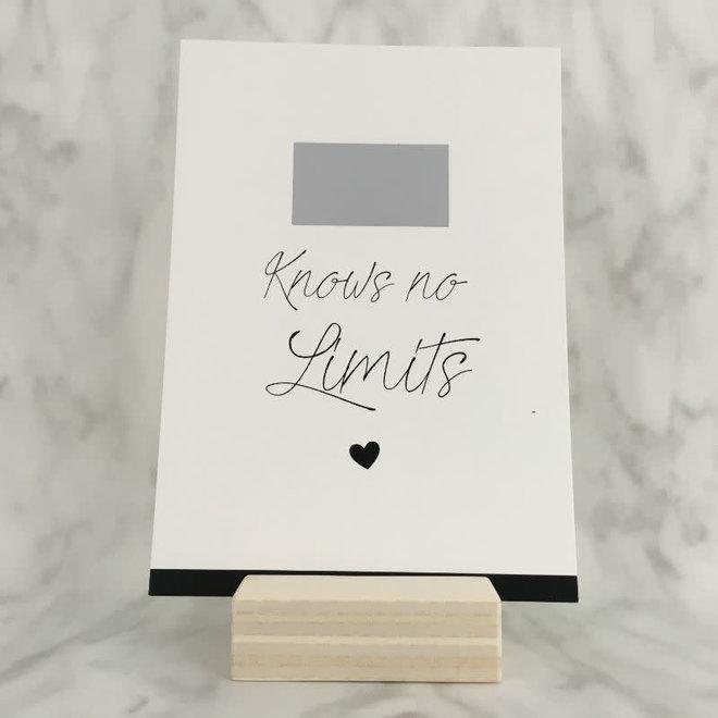 STUDIJOKE -  love knows no limits - scratch cards