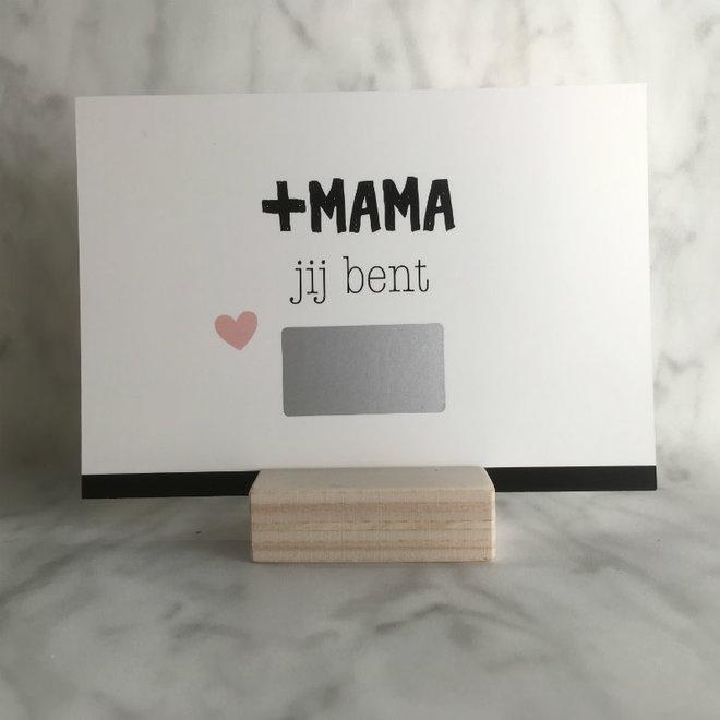 Studijoke - plus-mama - kraskaart