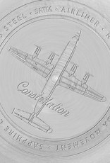 RSC Pilot Watches RSC Pilot Watches - Airliner stainless steel, zilver