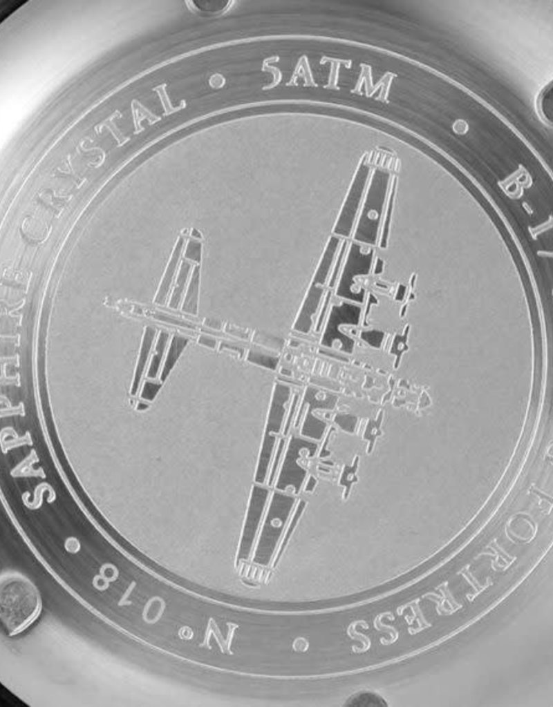 RSC Pilot Watches RSC - B-17 Flying Fortress Black Stainless steel