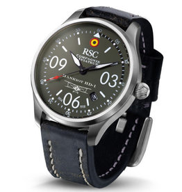 RSC Pilot Watches RSC - Hanriot HD-1 vintage black