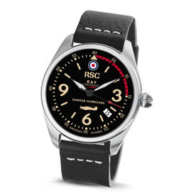 RSC Pilot Watches RSC - Hawker Hurricane Black Leather