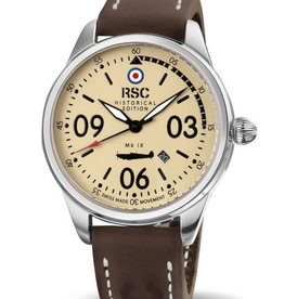RSC Pilot Watches RSC - Mk IX leather – dark brown