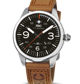 RSC Pilot Watches RSC - P-51 Mustang Light brown