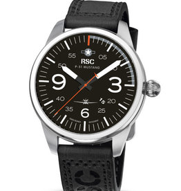 RSC Pilot Watches RSC - P-51 Mustang Black
