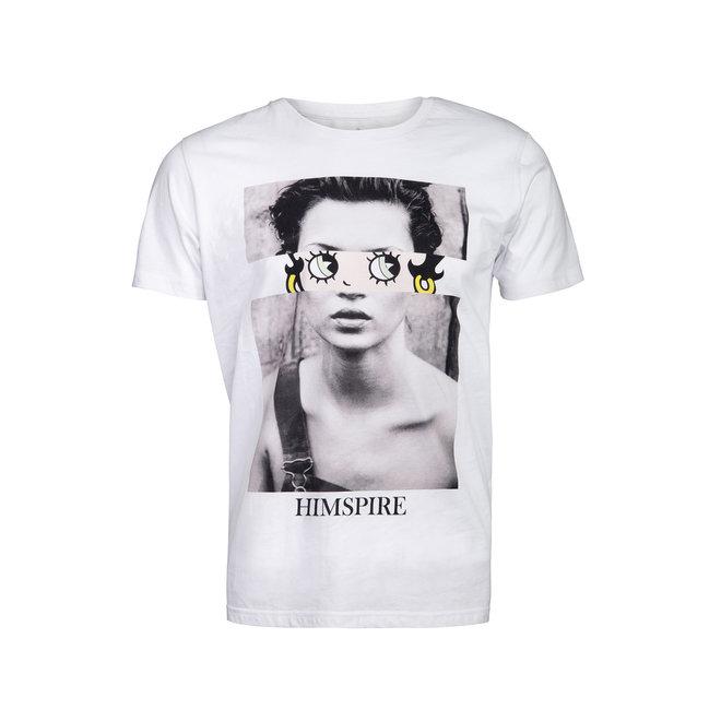 Himspire - t-shirt girly white
