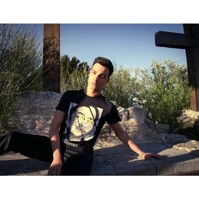 Himspire - t-shirt dalli, black