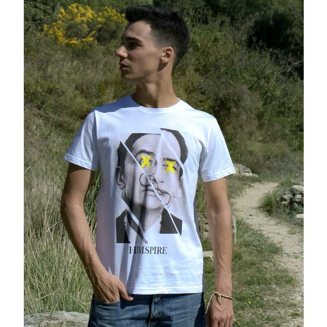 Himspire - t-shirt dalli, white