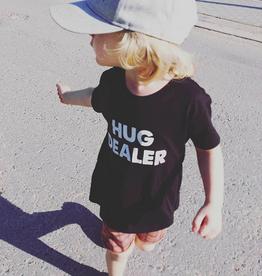 CDKN_kids CDKN_kids - zwarte Tshirt - Hug Dealer