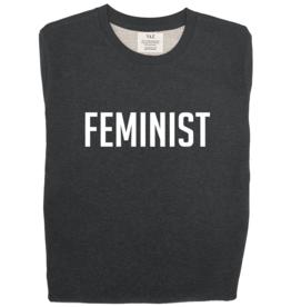 Oh Yaz Oh Yaz - FEMINIST Sweater, white