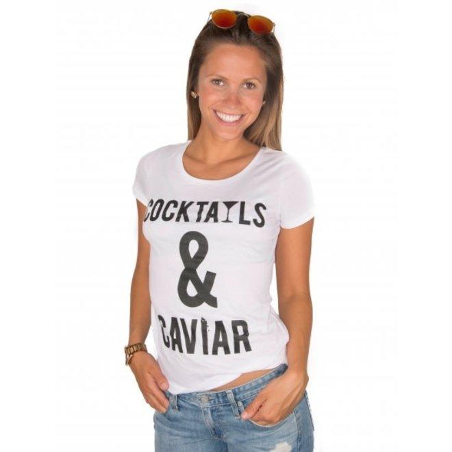 BIG BILLIONAIRE - cocktails & caviar - t shirt