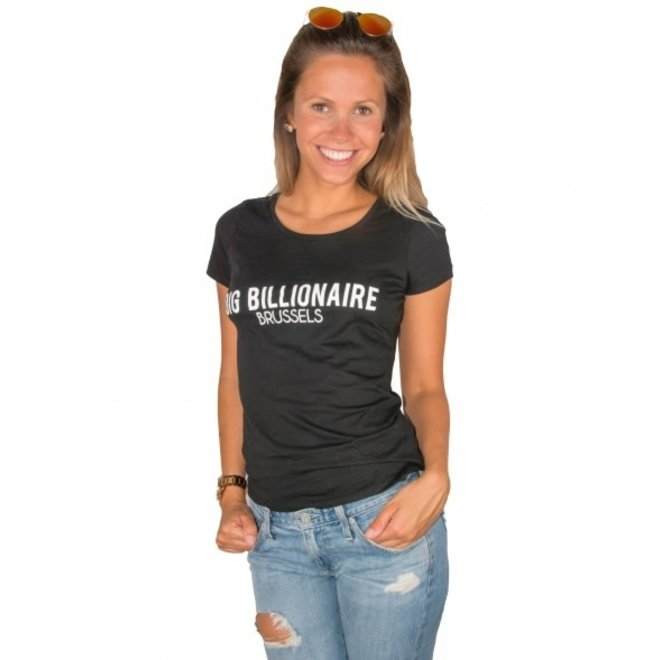 BIG BILLIONAIRE - official - t shirt - zwart