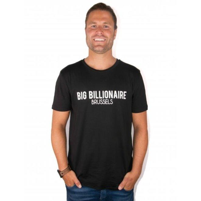BIG BILLIONAIRE - official - t shirt - zwart