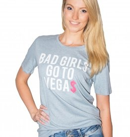 Big billionaire clothing Big billionaire - bad girls go to vegas shirt blauw