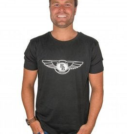 Big billionaire clothing Big Billionaire official LOGO shirt black