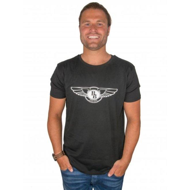 BIG BILLIONAIRE - official logo - t shirt - zwart